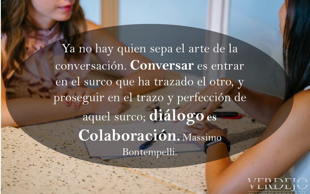 El diálogo une y construye tus Relaciones Públicas